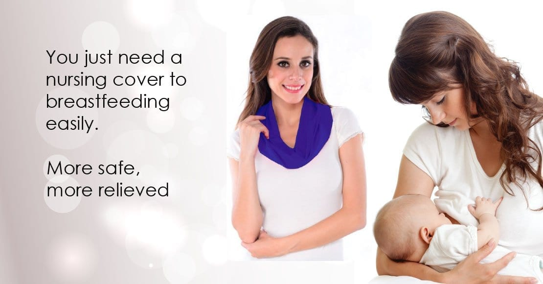 You just need a nursing cover to breastfeeding easily