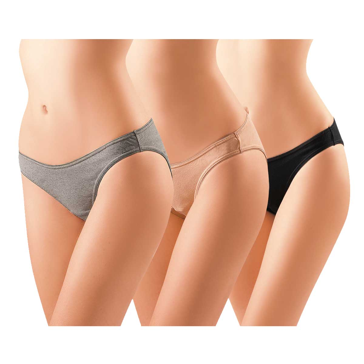 anti bacterial cotton bikini maternity panty 3pcs