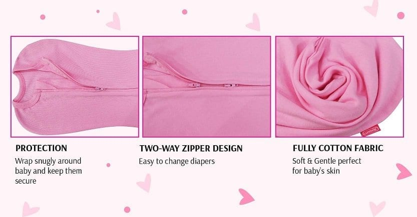 Protection | Two-Way Zipper Design | Fully Cotton Fabric