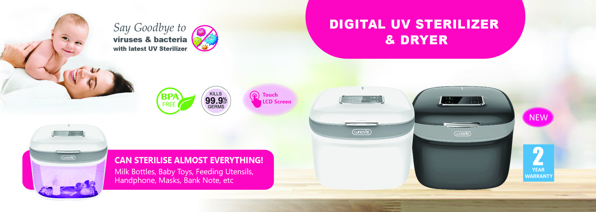 Digital UV Sterilizer