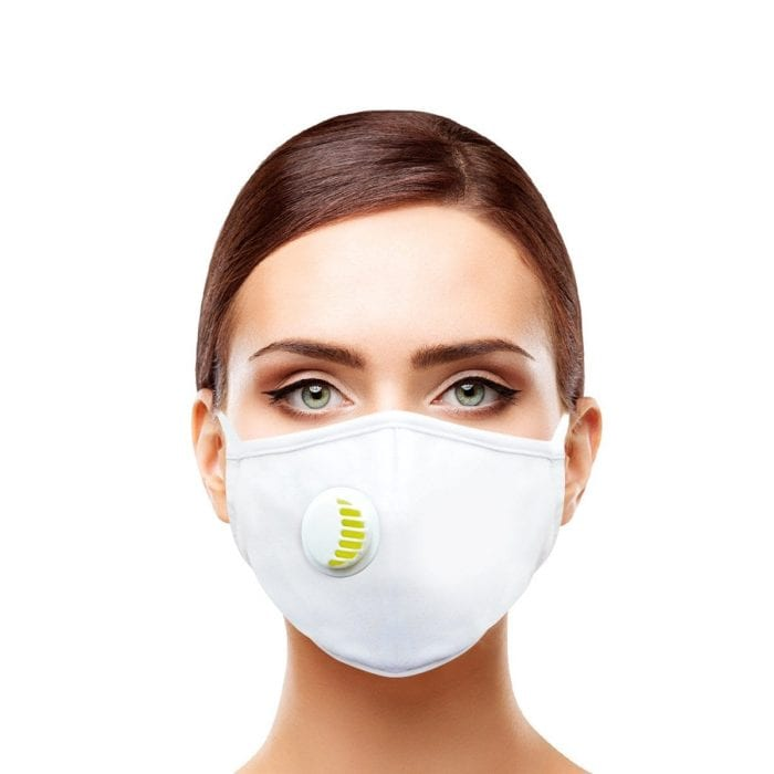 Air Face Mask White Adult