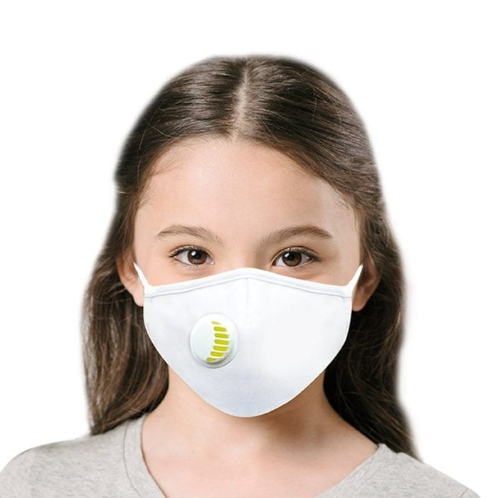 Air Face Mask White Kids
