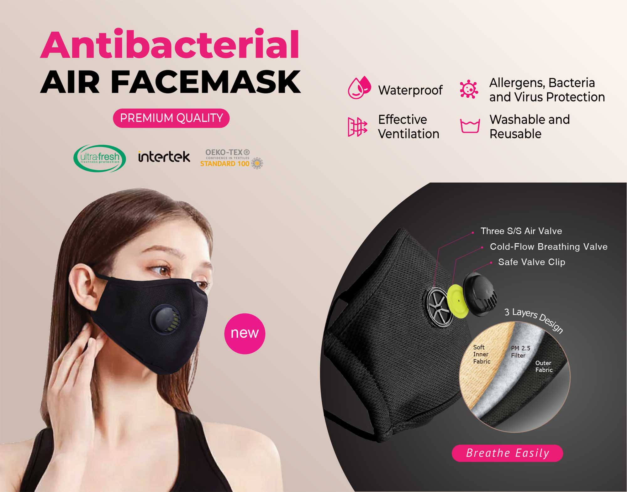 air face mask deks